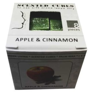 apple & cinnamon, scented cubes, waxmelts, scentchips,