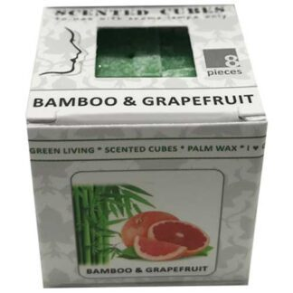 bamboo & grapefruit, scented cubes, waxmelts, scentchips,