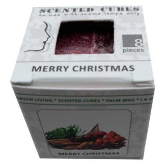 merry Christmas, scented cubes, waxmelts, scentchips,